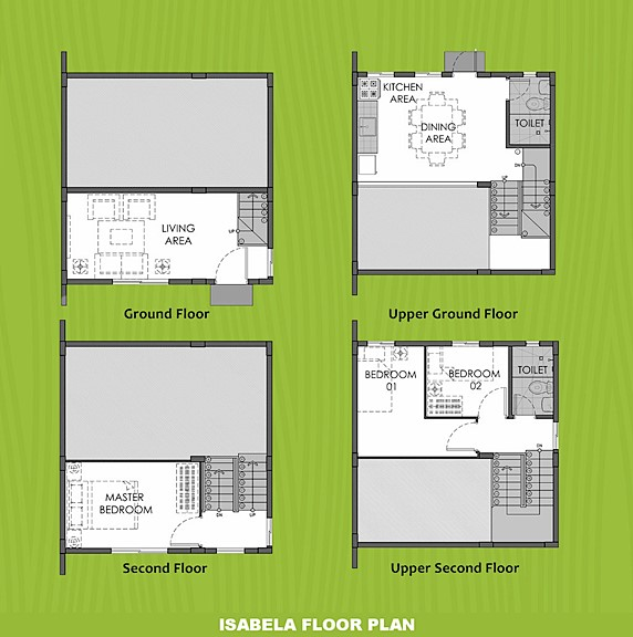 Isabela Floor Plan House and Lot in San Ildefonso