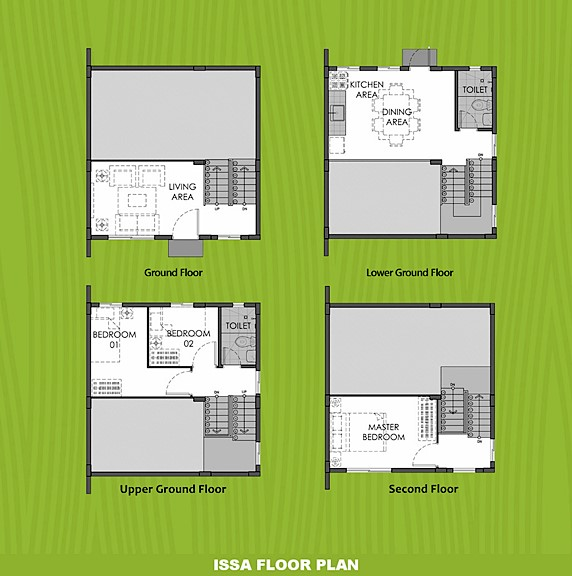 Issa Floor Plan House and Lot in San Ildefonso