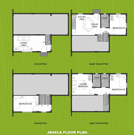Janela Floor Plan House and Lot in San Ildefonso