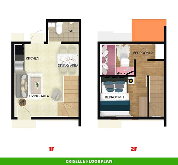 Criselle Floor Plan House and Lot in San Ildefonso