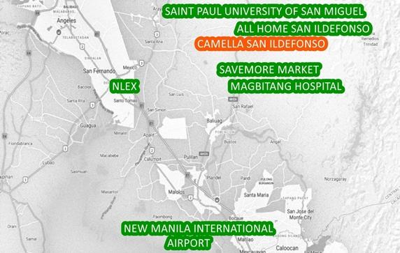 San Ildefonso Property Vicinity Map