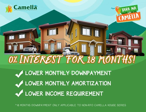 Promo for Camella San Ildefonso.